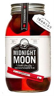 Midnight Moon Junior Johnson's Strawberry Moonshine...